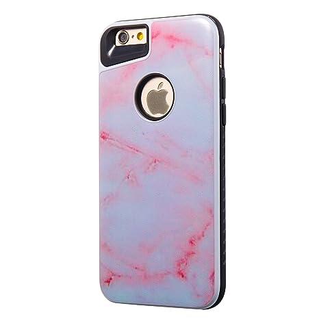Funda iPhone 6S, Carcasa iPhone 6 Silicona, RosyHeart Patrón ...