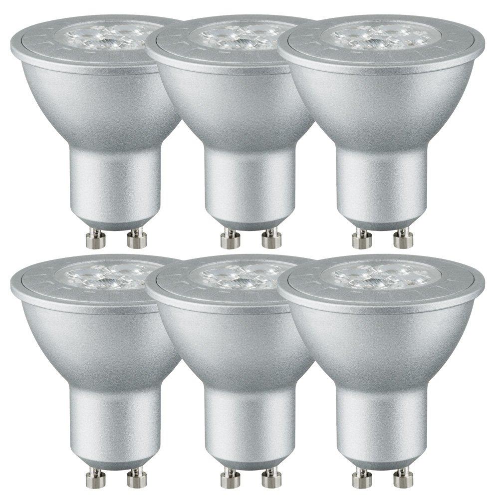 12 St/ück Brice LED Reflektor Leuchtmittel GU10 2,5W = 20W Halogenersatz 130lm warmwei/ß 2700K 36/°