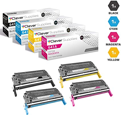 4 pack C9720A C9721A C9722A C9723A Color Set fits HP Color 4600 4650 Printer