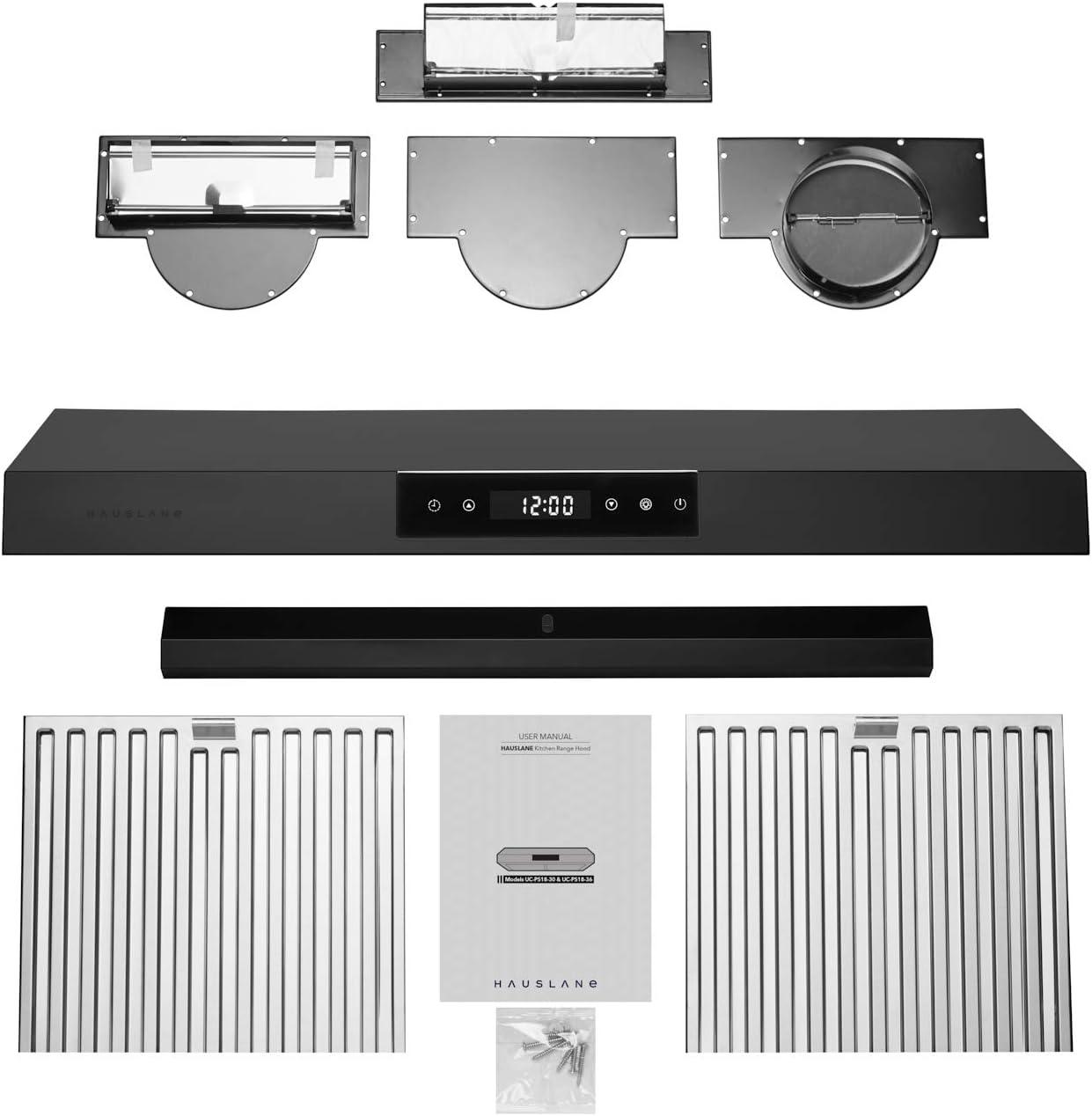 Chef Series 30 PS18 Under Cabinet Range Hood 3-Way Venting ...