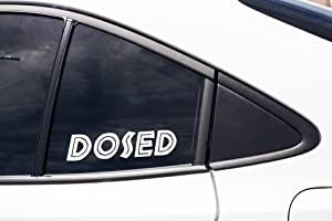 PotteLove Dosed LSD Acid DMT Drugs Psychedelic Microdose Music Festival Hippie Wook, Vinyl Sticker Decal Cup Mug Bumper Laptop Car Window Art Gift, Art Decor