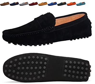 Men's Driving Slip-on Flats Loafers Casual Boat Shoes