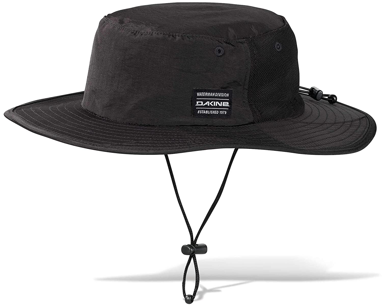 5b21e3e2233cd Dakine No Zone Surf Hat - Black at Amazon Men s Clothing store