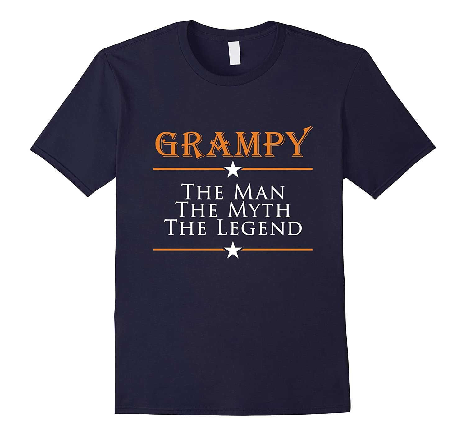 Grampy The Man The Myth The Legend T-Shirts Gifts For Papas-BN