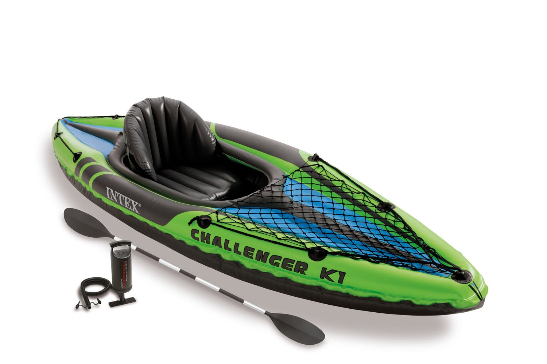 Amazon.com: Intex Challenger - Juego de kayak inflable y ...