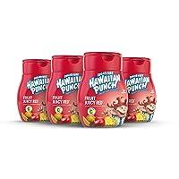 Hawaiian Punch, Fruit Juicy Red, Liquid Water Enhancer – New, Better Taste! (4 Bottles...