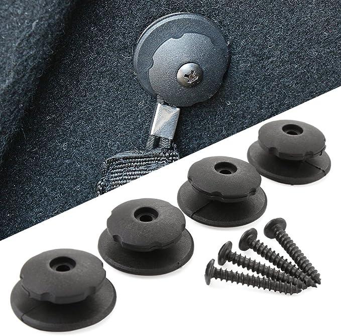 3 piezas de red de equipaje com/ún red de protecci/ón de red de almacenamiento Hetangyuese Organizador para maletero de coche