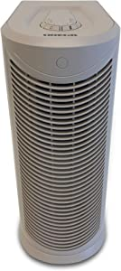 Oreck Air Tower Purifier, with HEPA Filtration, WK17500QPC, Cream