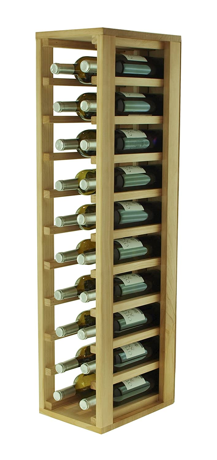Expovinalia Wine Rack, Wood, Oak, 24 x 32 x 105 cm EXQXT Ex2032