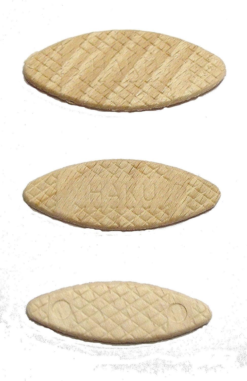 150 St/ück original HAKU /® Buche Flachd/übel oder Lamello genannt Sortiment 50 je Gr/ö/ße