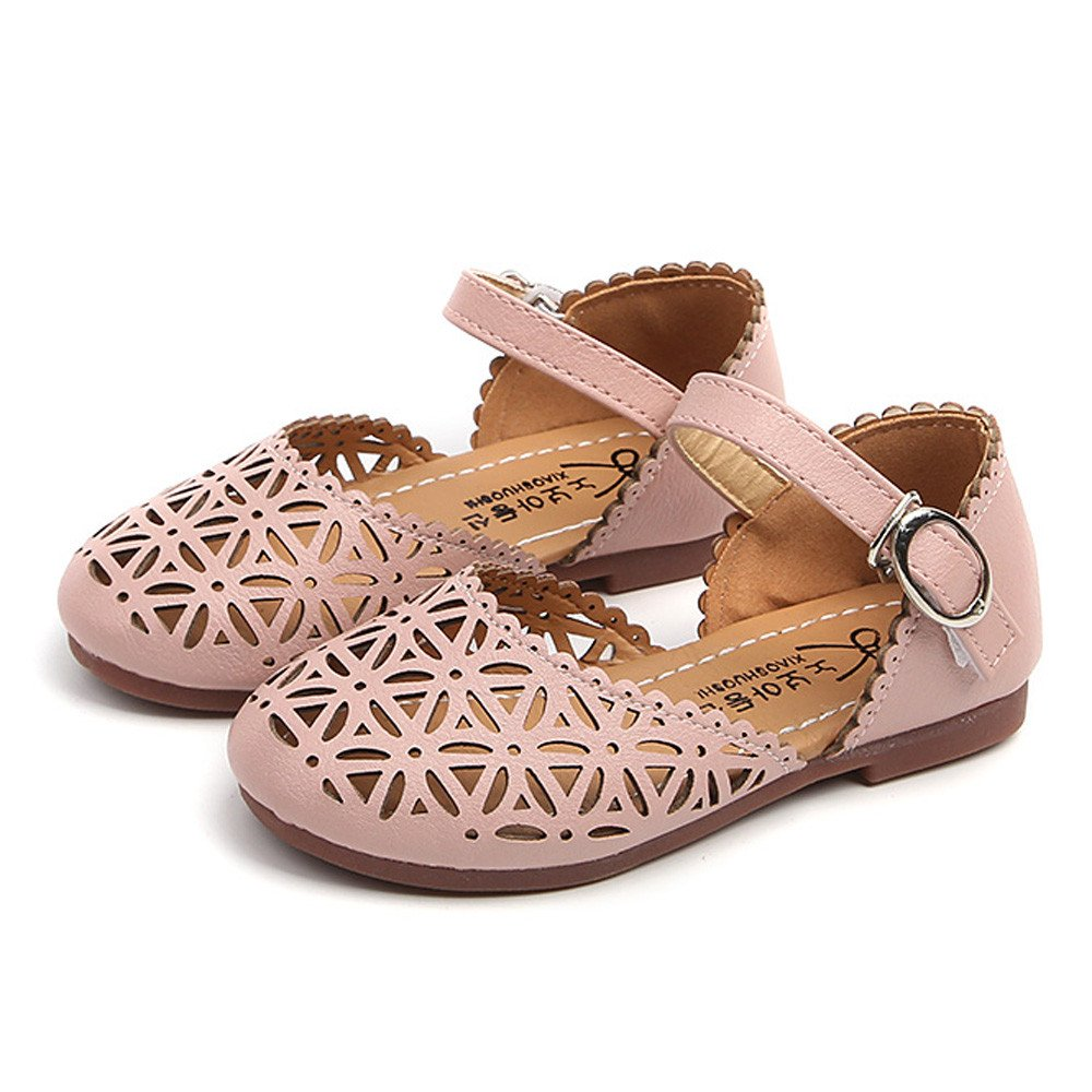 Toddler Baby Fashion Sneaker Child Girls Casual Sandals Leather Pricness Shoes Sandals for Kids