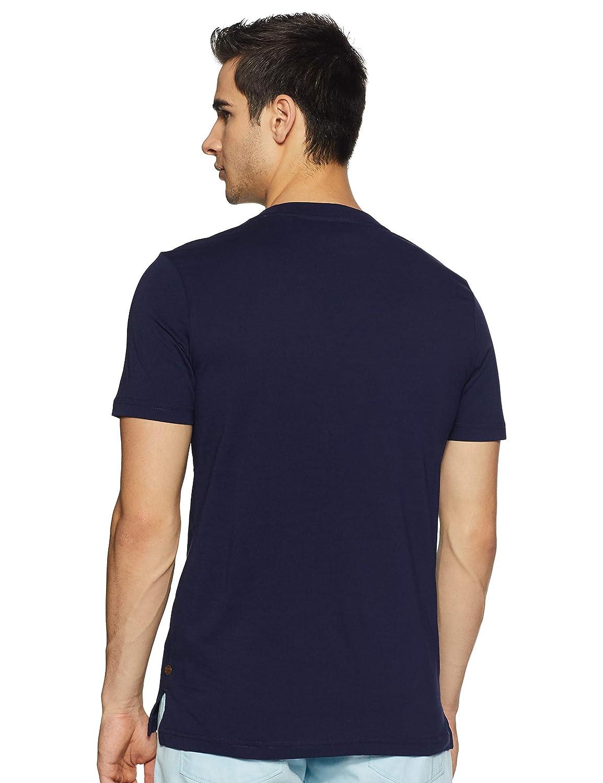 Scotch /& Soda Mens Multicolour Text T-Shirt