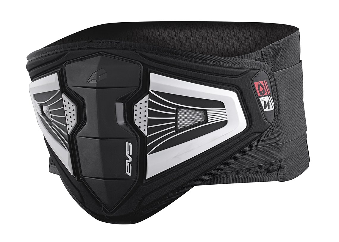 EVS Sports BB04 Impact Kidney Belt (Black, Small)
