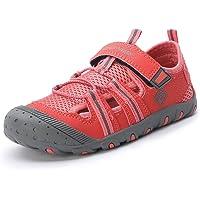 Dream Pairs Boys Girls Closed-Toe Outdoor Summer Sandals (Toddler/Little Kid/Big Kid)