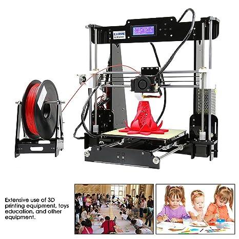 Amazon.com: Impresora ANET A8 3D, pantalla LCD de acrílico ...