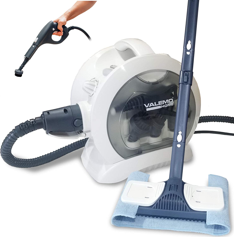 Valemo VH-ST20 Steam Cleaner Multipurpose Heavy Duty Steamer for Floors, Kitchens, Tile, Cars, Home Use and More.