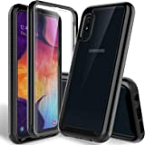 HATOSHI Samsung Galaxy A10e Case Phone with Built-in Screen Protector -NOT for Galaxy A10, Heavy Duty Protection, Crystal Cle