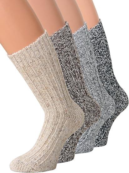 kb Socken Épaisseur de 2 paires de chaussettes en laine