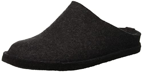 Haflinger Flair Sassy Wool Felt Open-Back Slippers Womens Sandals