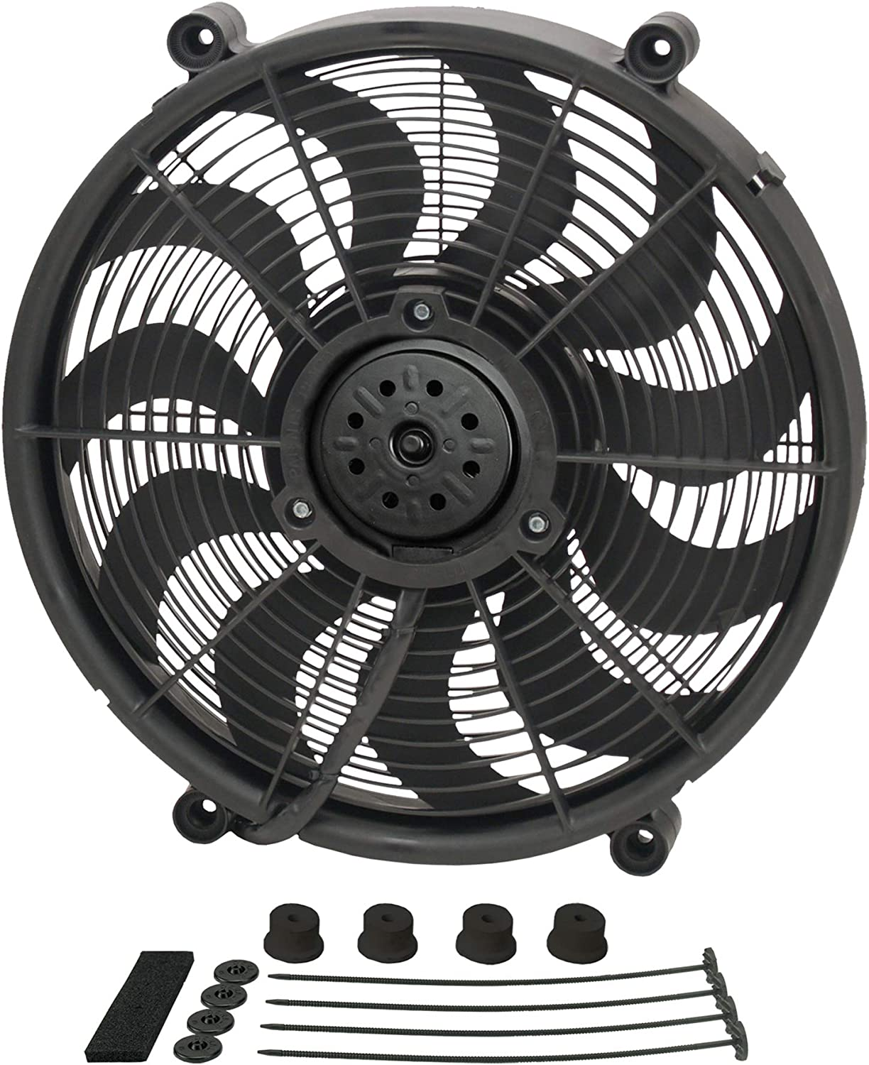 "Derale 18217 17"" High Output Radiator Fan"