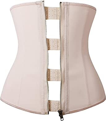 1a49faf661848 YIANNA Women Hourglass Waist Shaper Corset for Weight Loss Workout Sport  Training Trainer Belt with Latex