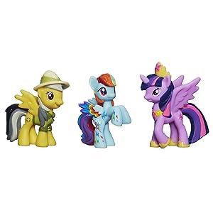 My Little Pony, Daring Pony Story Set [Daring Do Dazzle, Princess Twilight Sparkle, and Rainbowfied Rainbow Dash]