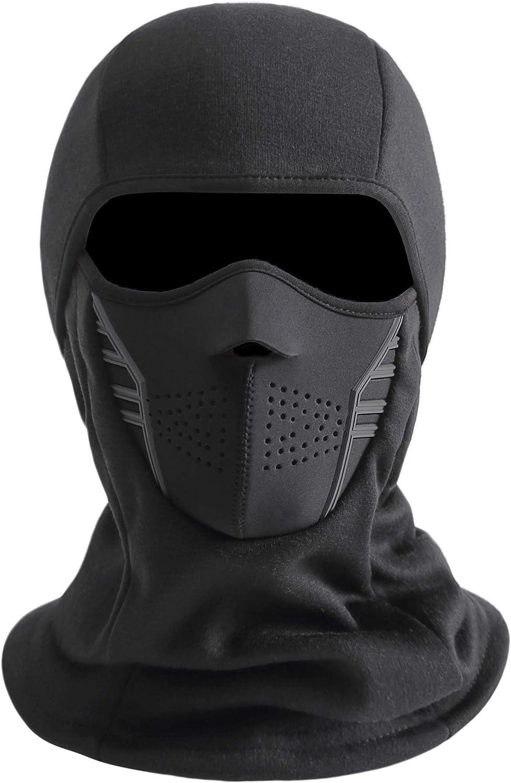 IRELIA Winter Windproof Fleece Ski Mask Balaclava Headwear Motorcycle Thermal Bandanas
