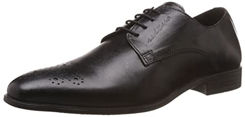 Red Tape Men s Derbys Black Leather Formal Shoes - 11 UK India (45 ... f892ebf2ac5e
