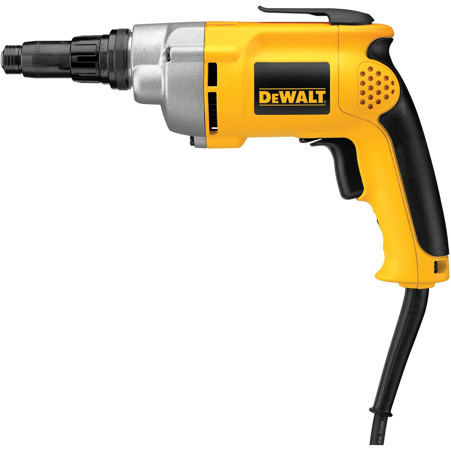 DEWALT Drywall Screw Gun, Variable Speed Reversible, 6.5-Amp DW267