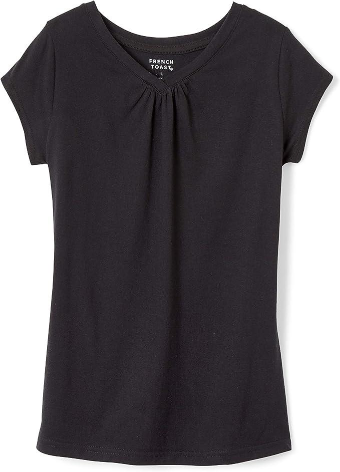 French Toast Girls Short Sleeve V-Neck Tee T-Shirt T-Shirt