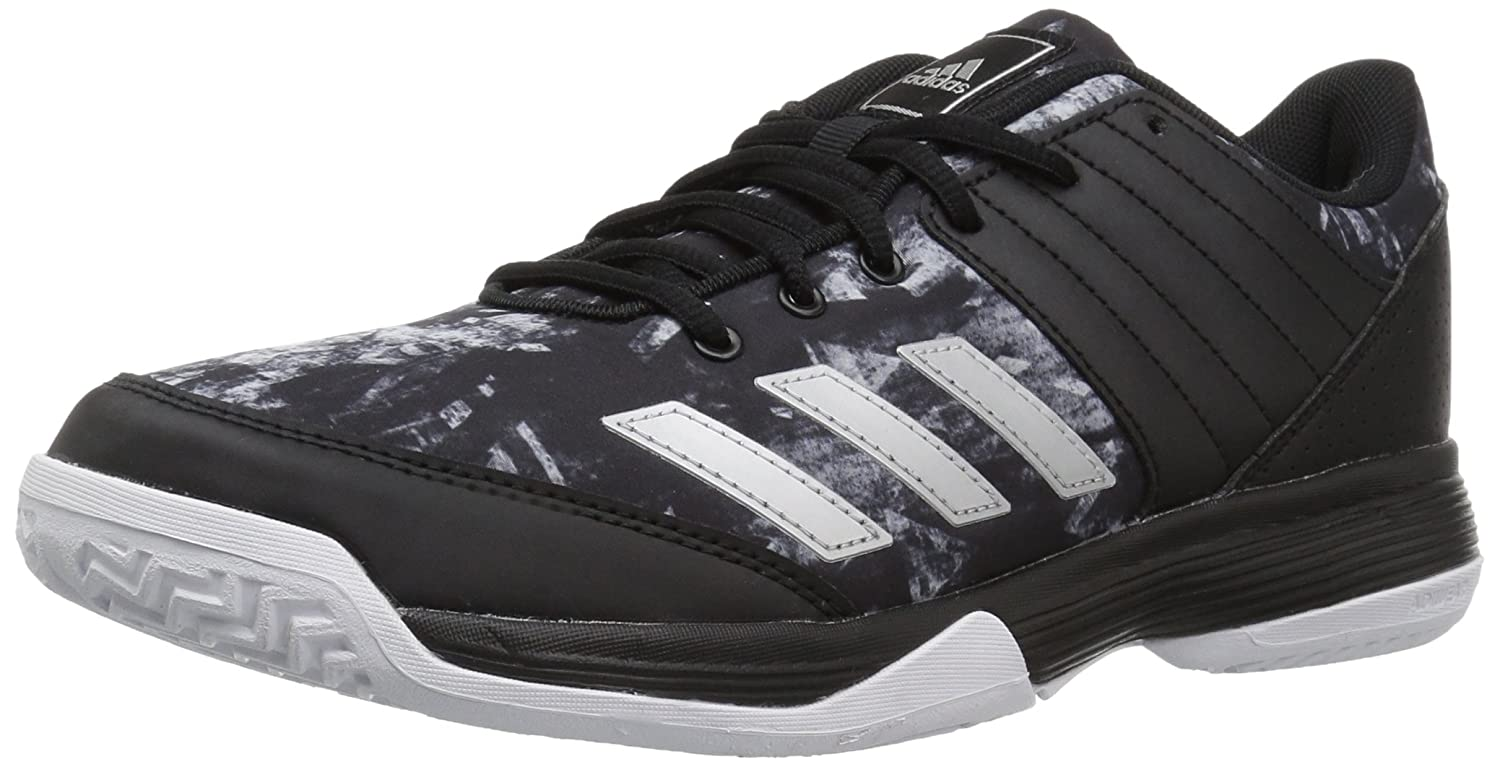 adidas Women's Ligra 5 W Tennis Shoe B01N9HCOEY 7 B(M) US|Black/Metallic Silver/White