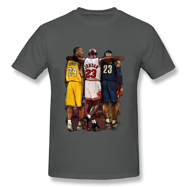T Jordan Lebron Bryant Michael Three Stars Men's Kobe Shirt James rtdshQCxB