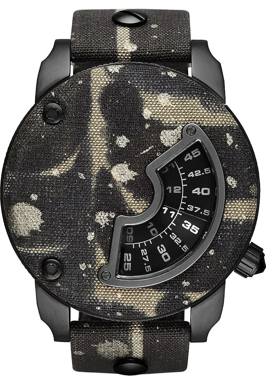 Diesel Alrite Herren-Armbanduhr Analog Quarz One Size - perlmutt - braun