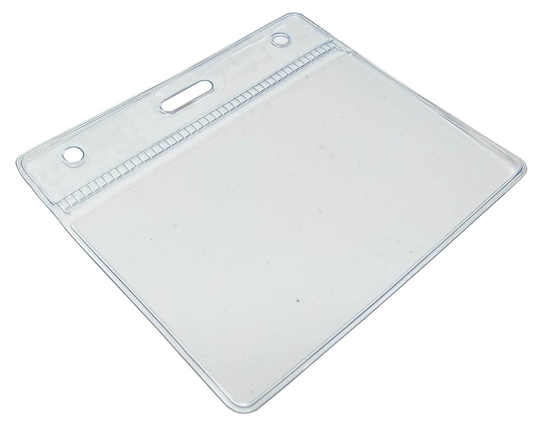 Dimensioni E Quantit/à Assortite Medium 50 Pezzi Customcard Ltd Custodie Per Cartellino