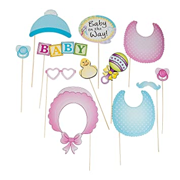 Workbook baby shower games printable worksheets free : Amazon.com: Baby Shower Photo Stick Props (12 Pack): Toys & Games
