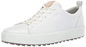 Soft HydroMax Ecco M Golf Spikeless Men's Golf Shoes (White