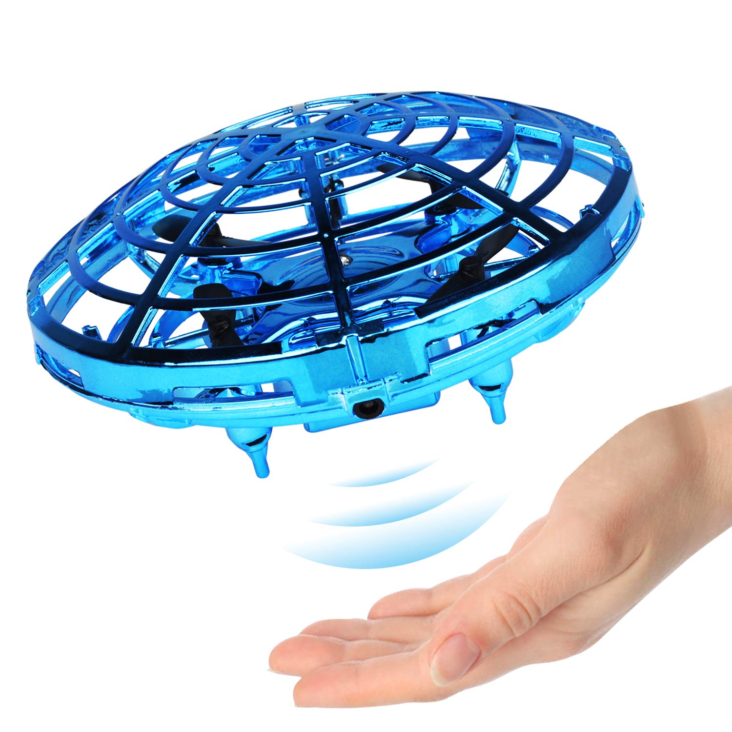 Ganowo Flying Toy Hand Controlled Flying Ball Indoor Outdoor Mini Drone Toys with LED Light for Kids Adults Teens by Ganowo