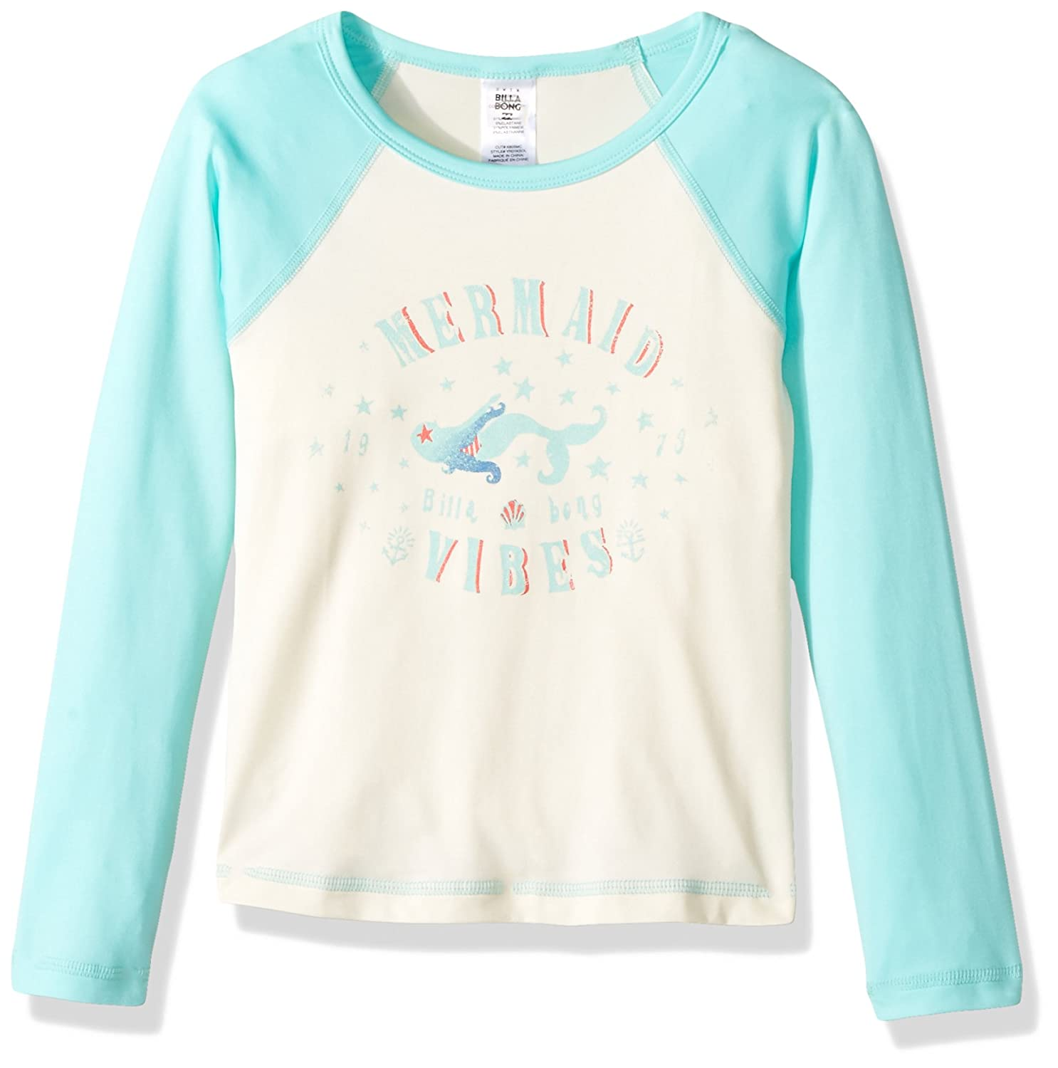 Billabong Big Girls Sol Searcher Long Sleeve Rashguard YR01KSOL