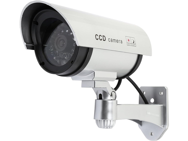 人気デザイナー Rosewillダミー B074VFKB1M/偽セキュリティCCTV監視カメラインドアアウトドア、with 1つLEDライト&警告セキュリティ警告ステッカー B074VFKB1M, J+lafan:486313d3 --- trainersnit-com.access.secure-ssl-servers.info