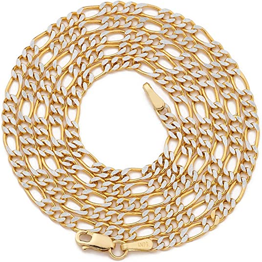 LOVEBLING 10K White Gold 0.40mm Liteweight Box Chain Necklace with Spring Clasp