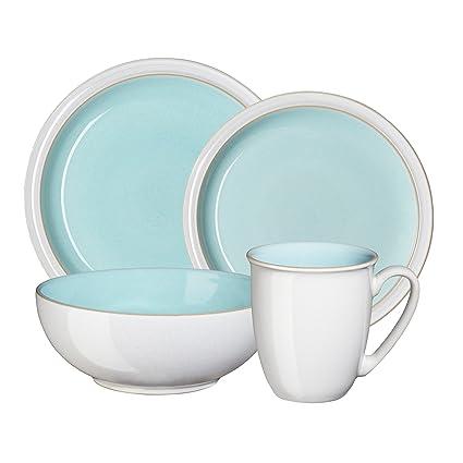 Amazon.com: Denby USA Set, Blend Azure 4 Pc: Kitchen & Dining
