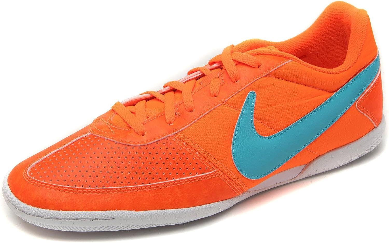 Adecuado semestre Escandaloso  Amazon.com | Nike Men's Davinho Soccer Shoes Total Orange/Gamma Blue/White  (7 D(M) US) | Shoes