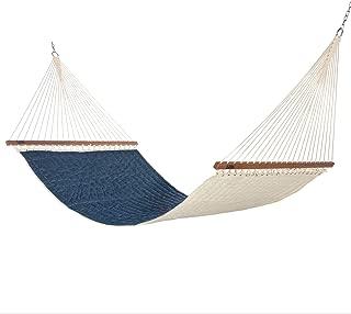 product image for Hatteras Hammocks Large Sunbrella Quilted Hammock - Platform Indigo