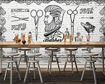 Amazon.com: BZDHWWH - Papel pintado para pared, diseño retro ...