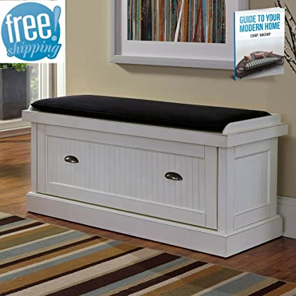 Shoe Rack Bench Seat For Entryway White With Storage Enclosed Organizer Door Hallway Modern