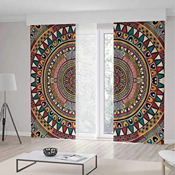 Amazon.com: Cortinas opacas iPrint Tribal, varios diseños ...