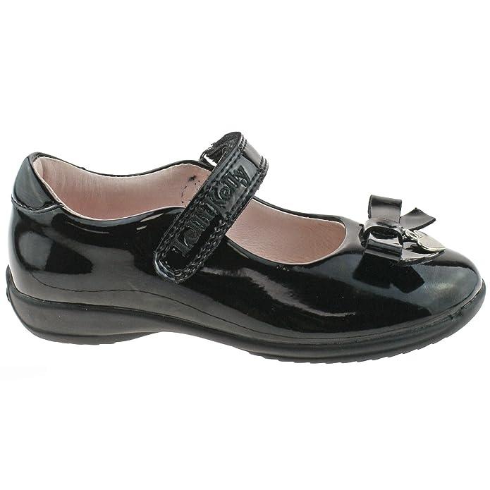 Lelli Kelly LK8339 (DB01) Love Black Patent School Shoes E Fitting-25 (UK 7) CmFliLgx