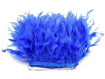 Black /& White Ostrich Fringe Trim Carnival Feathers Halloween 6 Inch Strip