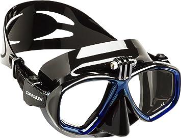 Cressi Action, Máscara de Buceo para cámara GoPro Unisex, Silicona