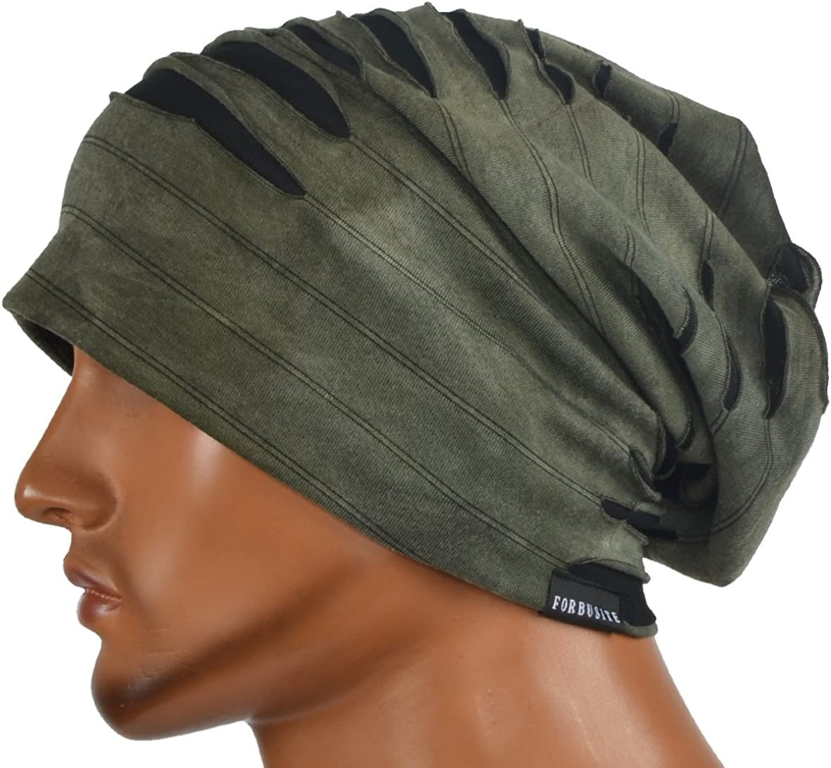 VECRY Mens Slouch Beanie Skull Cap Thin Summer Hat